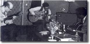 Jim Hall, Franco Cerri, Geroge Benson - Milano, novembre 1967