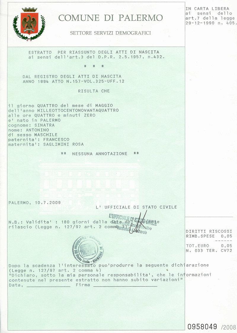Che differenza c'è tra un certificato, un estratto per ...