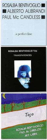 Rosalba Bentivoglio: A Perfect Line, Transparences, Taja