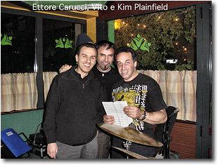 Ettore Carucci, Vito Di Modungo, Kim Plainfield