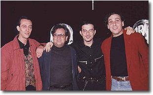 Giuseppe Spagnoli con Stefano Cerri e Walter Calloni