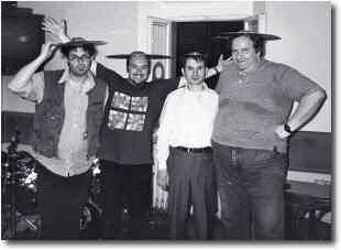 Patrizio Fraternali, Enrico Partisani, Pierluigi Vicini, Massimo Manzi