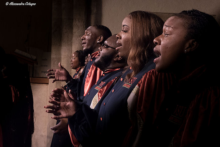 The Virginia State University Gospel Chorale
