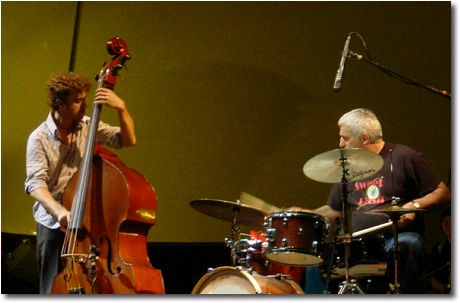 Stefano Senni e Massimo Chiarella (Steve Grossman & Danilo Memoli Trio - Villa Celimontana) - photo by Daniele Rotondo